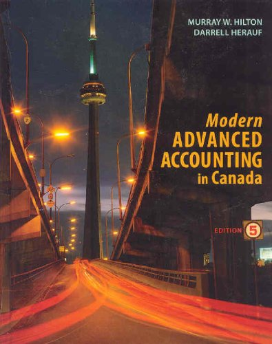9780070971110: Modern Advanced Accounting in Canada, Fifth Edition