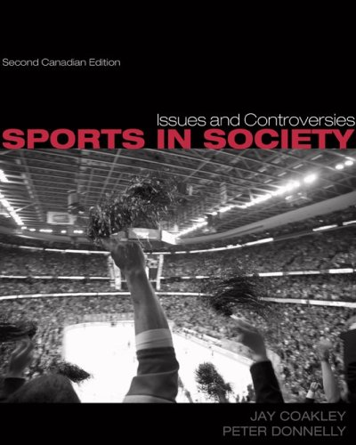 9780070971844: Sports in Society (Canadian)