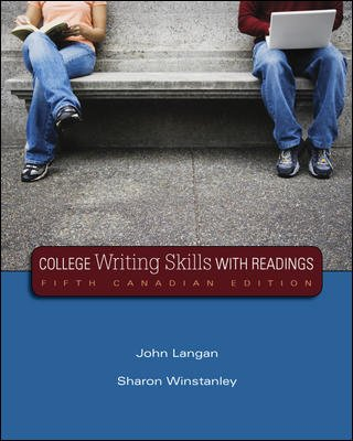 9780070972667: College Writing Skills with Readings, Fifth CDN Edition