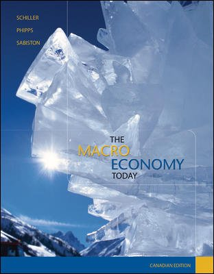 The Macro Economy Today, Cdn edition: Schiller, Bradley; Phipps, Laurie; Sabiston, David