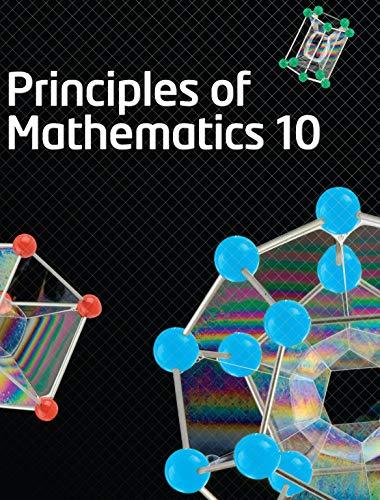 Principles of Mathematics 10: Canton, Barbara