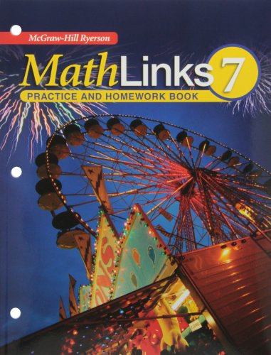 9780070973411: MathLinks 7 Practice and Homework Book