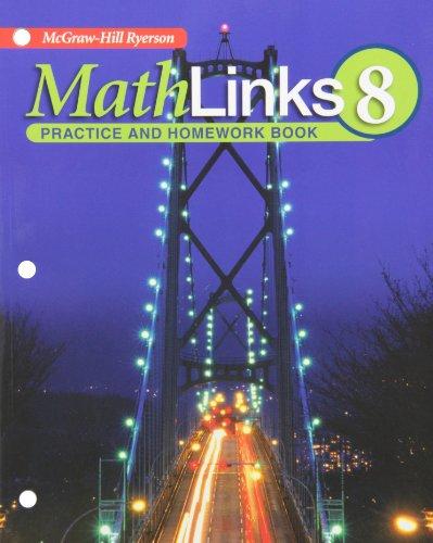 9780070973428: MathLinks 8 Practice and Homework Book
