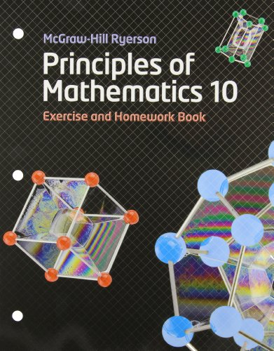9780070973602: Principles of Mathematics 10 Exercise and Homework Book