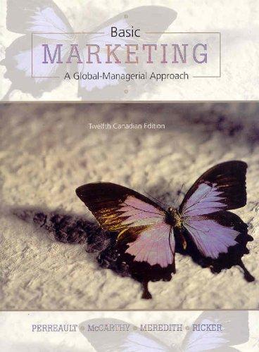 9780070974258: Basic Marketing