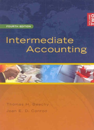 9780070978867: Intermediate Accounting Volume 2