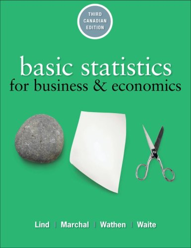 Basic Statistics for Business and Economics, 3rd: Douglas Lind, William