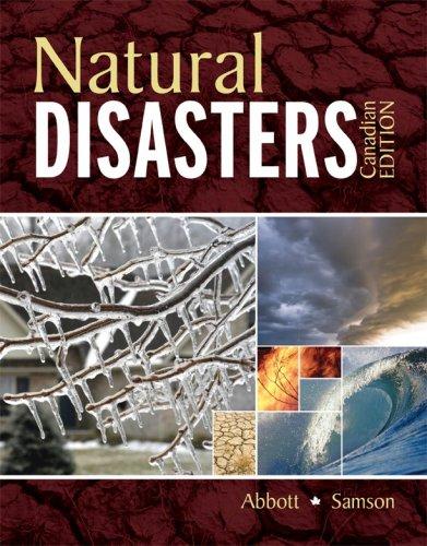 9780070980372: Natural Disasters, Cdn edition