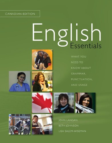 9780070980402: English Essentials, CDN Edition: What you need to know about grammar, punctuation, and usage