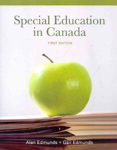 9780070981911: Special Education in Canada