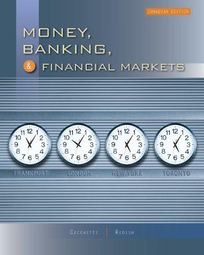 9780070983991: Money, Banking, and Financial Markets, Cdn edition