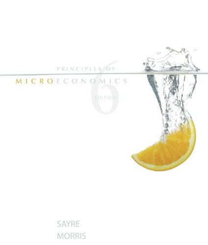 9780070984059: Principles of Microeconomics, 6th edition