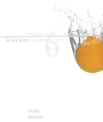 9780070984066: Principles of Macroeconomics, 6th edition