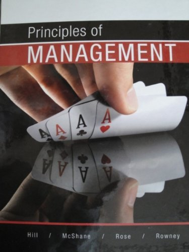 9780070984103: Principles of Management
