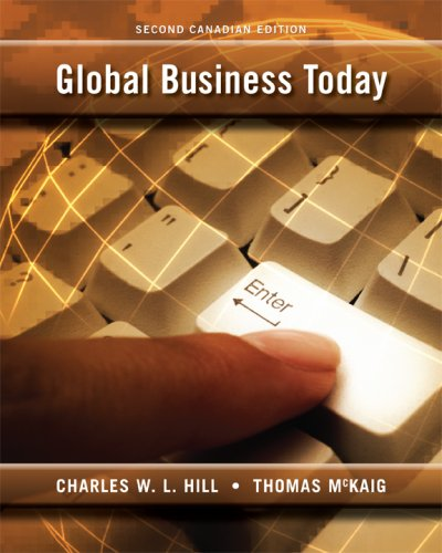 9780070984110: Global Business Today