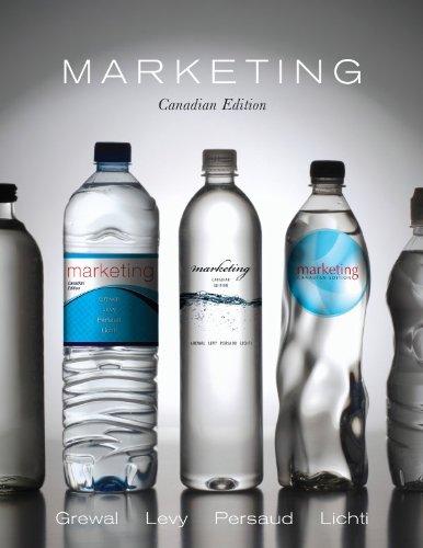 9780070984929: Marketing: Canadian Edition