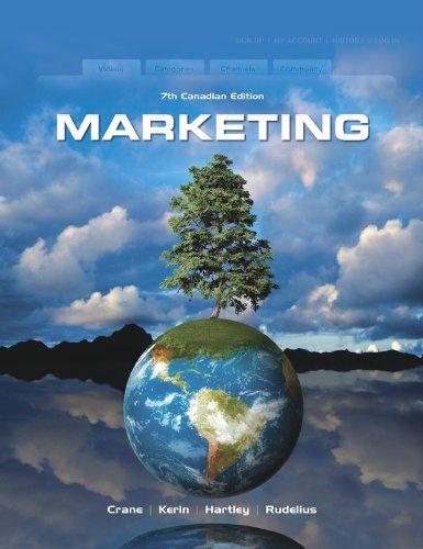 9780070984943: Marketing, 7th Cdn edition