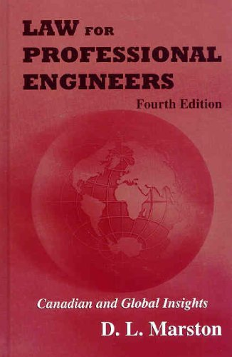 9780070985216: Law for Professional Engineers