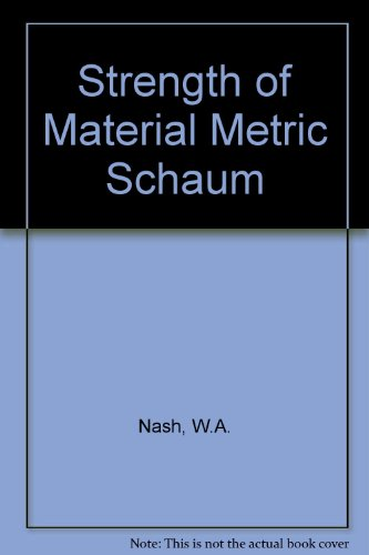 9780070990241: Strength of Material Metric Schaum