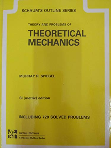 9780070990258: Theoretical Mechanics Metric Schaum