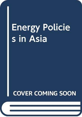 9780070991415: Energy Policies in Asia