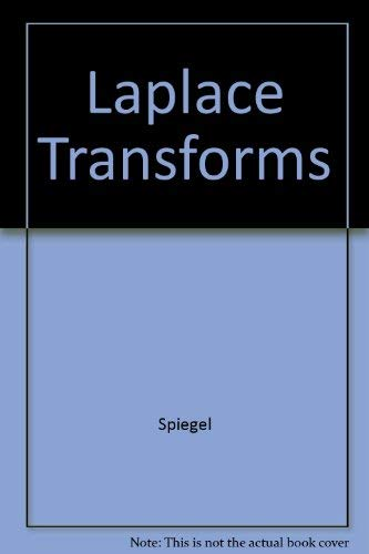 9780070991651: Laplace Transforms