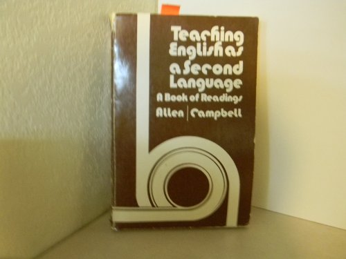9780070992078: Teaching English as a Second Language: A Book of Readings