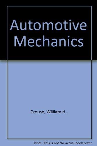9780070992658: Automotive Mechanics