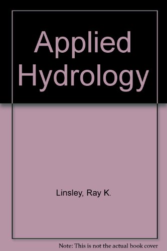 9780070994287: Applied Hydrology