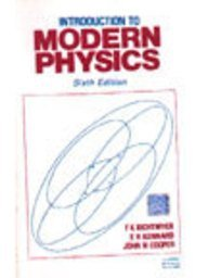 9780070995420: Introduction to Modern Physics (Pure & Applied Physics)