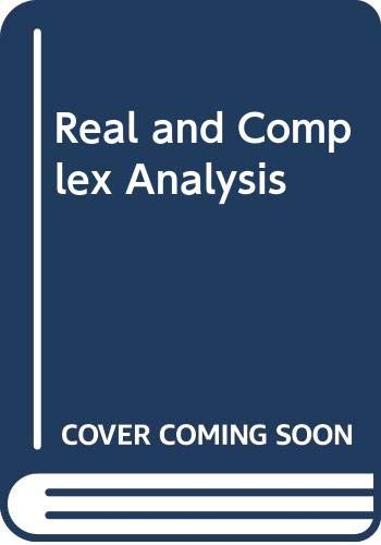 9780070995574: Real and Complex Analysis