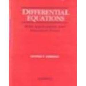 9780070995727: Differential Equations with Applications and Historical Notes