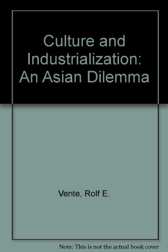 9780070996557: Culture and Industrialization: An Asian Dilemma