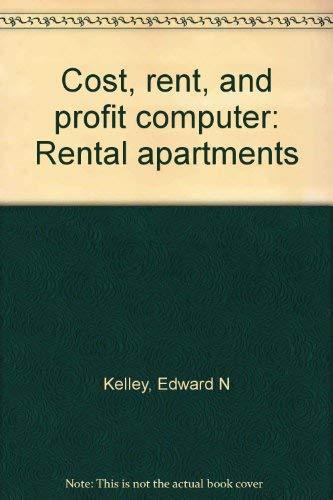 9780070999053: Cost, rent, and profit computer: Rental apartments