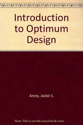 9780071001236: Introduction to Optimum Design