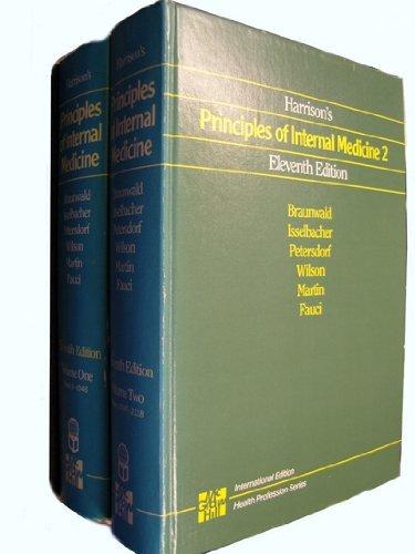 9780071001342: Harrison's Principles of Internal Medicine