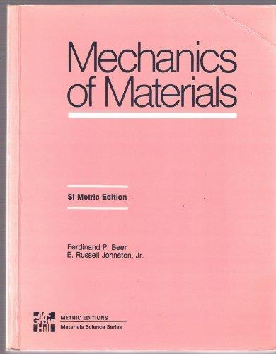 Mechanics of Materials (9780071001434) by Beer, Ferdinand P.; Johnston Jr., E. Russell
