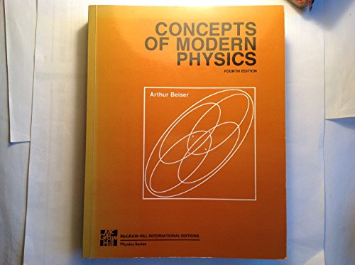 9780071001441: Concepts of Modern Physics (McGraw-Hill International Editions)