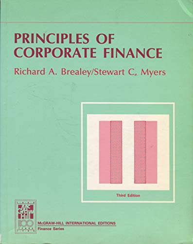 9780071001533: Principles of Corporate Finance