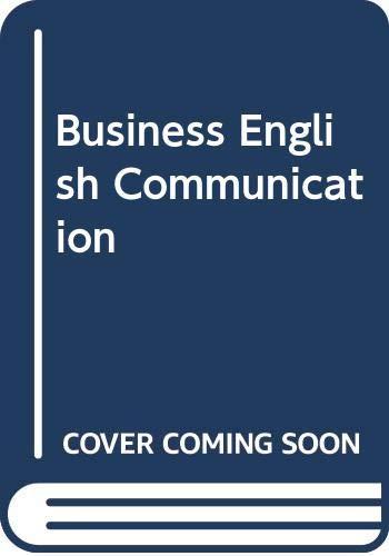 9780071001717: Business English Communication
