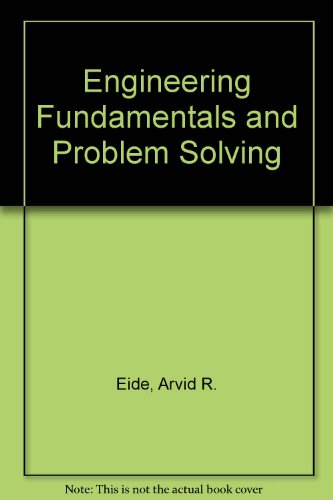 9780071001984: Engineering Fundamentals and Problem Solving