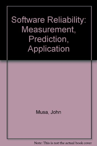 9780071002080: Software Reliability: Measurement, Prediction, Application