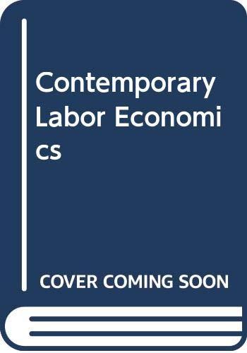 9780071002158: Contemporary Labor Economics