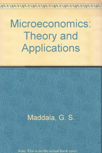 9780071002202: Microeconomics: Theory and Applications