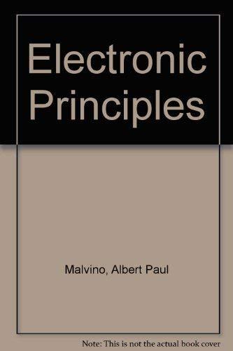 9780071002226: Electronic Principles