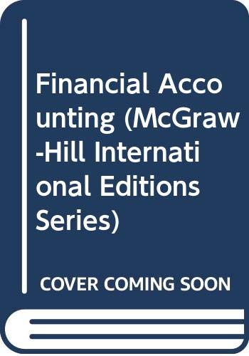 9780071002233: Financial Accounting (McGraw-Hill International Editions Series)