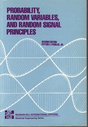 9780071002349: Probability, Random Variables and Random Signal Principles