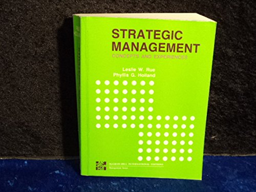 9780071002707: Strategic Management