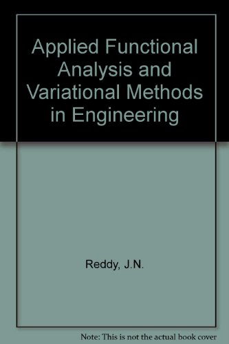 9780071002745: Applied Functional Analysis and Variational Methods in Engineering