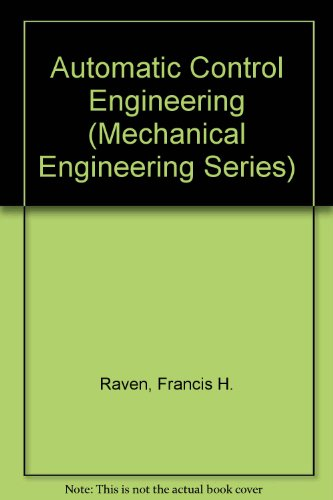 9780071002776: Automatic Control Engineering (Mechanical Engineering Series)